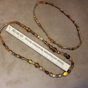 Double stand necklace